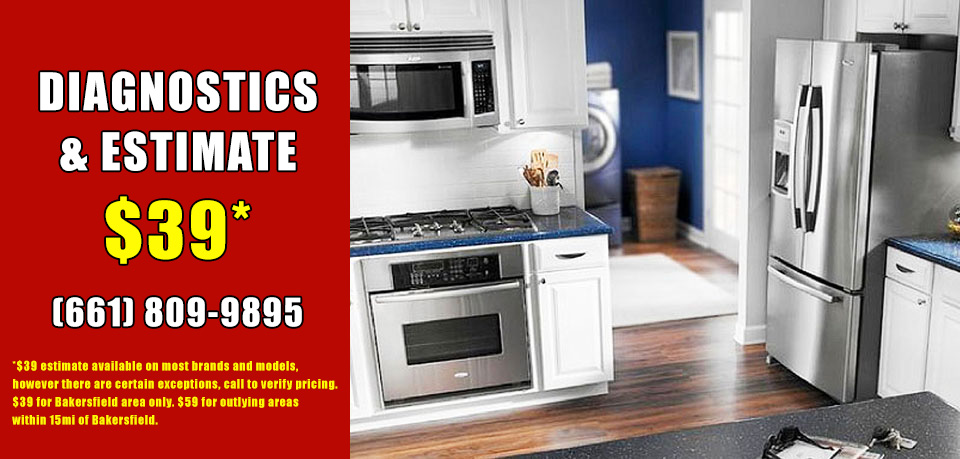 Appliance repair bakersfield ca call us today quality for Kitchen appliance services